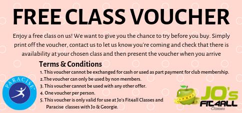 FREE Class Voucher